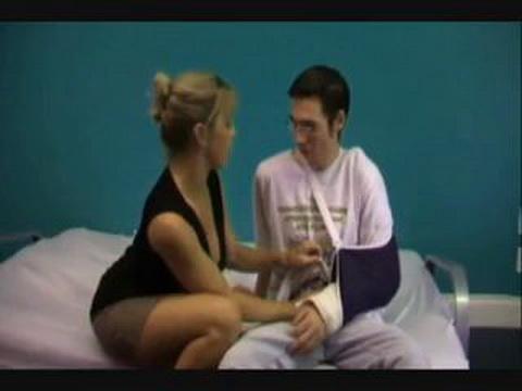 Busty Milf Was So Helpful To Injured Boy