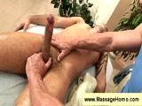 masseuse sucks the dick of his client