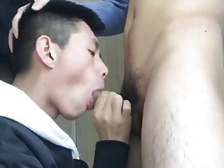 asian twink blows his friend for cam (129)